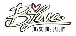 B Love Logo 2013 white and green
