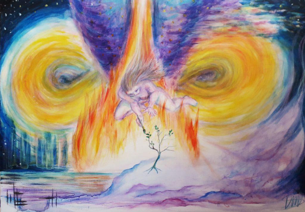 Deirdre's Soul Art