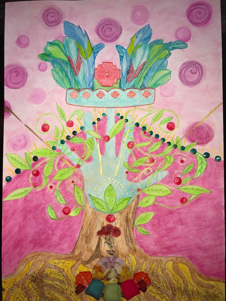 Q'orianka's Soul Art